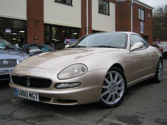 2001 MASERATI 3200 3.2 GT V8 2d AUTO 363 BHP