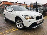 2010 BMW X1 2.0 SDRIVE20D SE 5d AUTO 174 BHP £11000.00