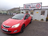 2012 VAUXHALL ASTRA 1.6 ACTIVE LIMITED EDITION 5d 113 BHP £4795.00