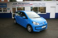 2014 VOLKSWAGEN UP 1.0 MOVE UP 5d 59 BHP £5450.00