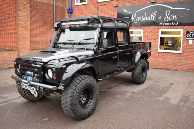 View our LAND ROVER DEFENDER 130