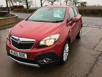 2015 VAUXHALL MOKKA 1.6 SE S/S 5d 114 BHP £8995.00