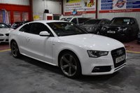 2014 AUDI A5 2.0 TDI QUATTRO S LINE BLACK EDITION S/S 2d AUTO 174 BHP £18495.00