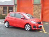 USED 2015 PEUGEOT 108 1.0 ACTIVE 5d 68 BHP