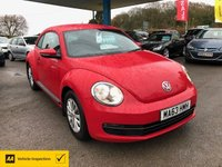 USED 2013 63 VOLKSWAGEN BEETLE 1.2 TSI 3d 103 BHP NEED FINANCE? WE STRIVE FOR 94% ACCEPTANCE!