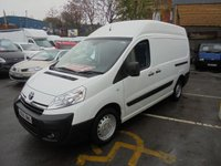 2015 TOYOTA PROACE 2.0 HDI DIESEL 1200 LONG WHEEL BASE, HIGH ROOF, AIR CONDITIONING. ELECTRIC PACK, TWIN SIDE LOADING DOORS,  REAR HI SECURITY CHUBB LOCK FITTED TO REAR DOOR  £SOLD