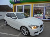 USED 2013 13 BMW 1 SERIES 2.0 116D M SPORT 5d 114 BHP **FULL SERVICE HISTORY** NO DEPOSIT DEALS 01543 379066