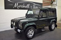 USED 2004 04 LAND ROVER DEFENDER 90 2.5 90 TD5 XS STATION WAGON 3d 120 BHP RARE FACTORY XS - 13 SERVICE STAMPS - HEATED SEATS - TOWBAR - ABS - E/WINDOWS - BOOST ALLOYS
