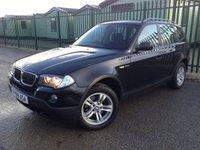 2009 BMW X3 2.0 D SE 5d AUTO 175 BHP SATNAV CRUISE CLIMATE PDC FSH  £5990.00