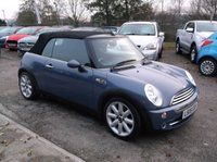 2005 MINI CONVERTIBLE 1.6 COOPER 2d 114 BHP £SOLD