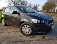 2013 CHEVROLET AVEO 1.2 LS 5d 85 BHP + 1 FORMER KEEPER + SERVICE HISTORY £2850.00