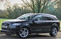 USED 2012 62 AUDI Q7 3.0 TDI QUATTRO S LINE PLUS 5d AUTO 245 BHP