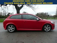 USED 2011 11 VOLVO C30 2.0 R-DESIGN 3d 145 BHP Full Service History, Excellent Condition, Two Tone Leather, Air Con,