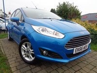 USED 2016 66 FORD FIESTA 1.2 ZETEC 5d 81 BHP **1 Owner Full Ford History Remainder Of Ford Warranty**