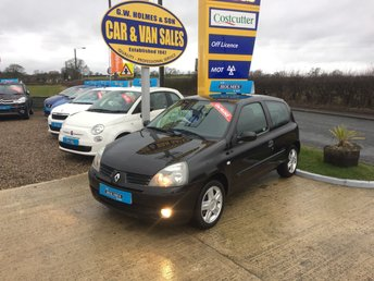 2005 RENAULT CLIO EXTREME 1.1 3 DOOR **ONLY 37,000 MILES**FIND ANOTHER THIS CLEAN** £SOLD