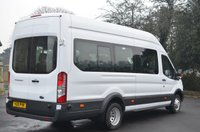 USED 2015 15 FORD TRANSIT 2.2 460 H/R BUS 18 STR 1d 124 BHP 17 Seater +Tacho