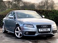 2012 AUDI A4 2.0 TDI S LINE 4d AUTO WITH PADDLE SHIFT 141 BHP £9500.00