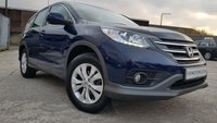 USED 2014 64 HONDA CR-V 1.6 I-DTEC SE 5d 118BHP NEW SHAPE 1OWNER+FSH 5STAMPS+2KEYS+MEDIA