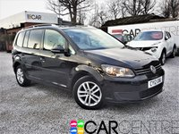 2012 VOLKSWAGEN TOURAN 1.6 SE TDI BLUEMOTION TECHNOLOGY 5d 103 BHP £7495.00