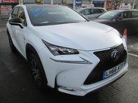 2016 LEXUS NX 300H F SPORT 2.5 AUTOMATIC  5d 153 BHP £27995.00