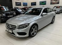 USED 2015 15 MERCEDES-BENZ C CLASS 2.1 C220 BLUETEC AMG LINE NAV 5d AUTO 170 BHP ESTATE