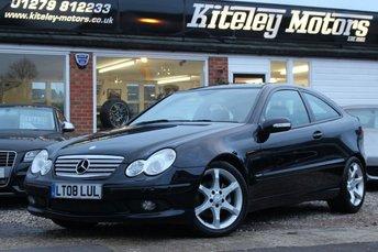 2008 MERCEDES-BENZ C CLASS 2.5 C230 SPORT EDITION 3d AUTO 202 BHP £5995.00