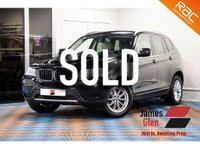2013 BMW X3 2.0 XDRIVE20D SE 5d AUTO 181 BHP £14485.00