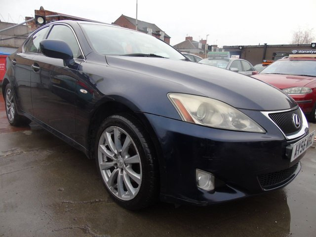 USED 2006 56 LEXUS IS 2.2 220D 4d FULL SERVICE DRIVES A1