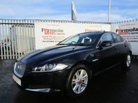 USED 2014 64 JAGUAR XF 2.2 TD Luxury (s/s) 4dr 1 OWNER+FULL MOT+LOW MILES