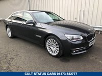 2014 BMW 7 SERIES 740LI SE LWB AUTO 3.0 TWIN TURBO PETROL    £21995.00