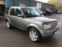2010 LAND ROVER DISCOVERY 3.0 4 TDV6 XS 5d AUTO 245 BHP £16250.00