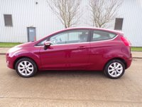 USED 2009 59 FORD FIESTA 1.4 ZETEC 16V 3d 96 BHP 1 OWNER AIR CONDITIONING PART EXCHANGE AVAILABLE / ALL CARDS / FINANCE AVAILABLE