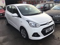 USED 2017 66 HYUNDAI I10 1.2 SE 5d 86 BHP Manufacturers warranty, 3 years, white, 19700 miles, alloys, air/con, low road tax,