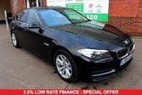 USED 2014 64 BMW 5 SERIES 2.0 520D SE 4d AUTO 188 BHP +SAT NAV +LOW TAX +FSH +AUTO