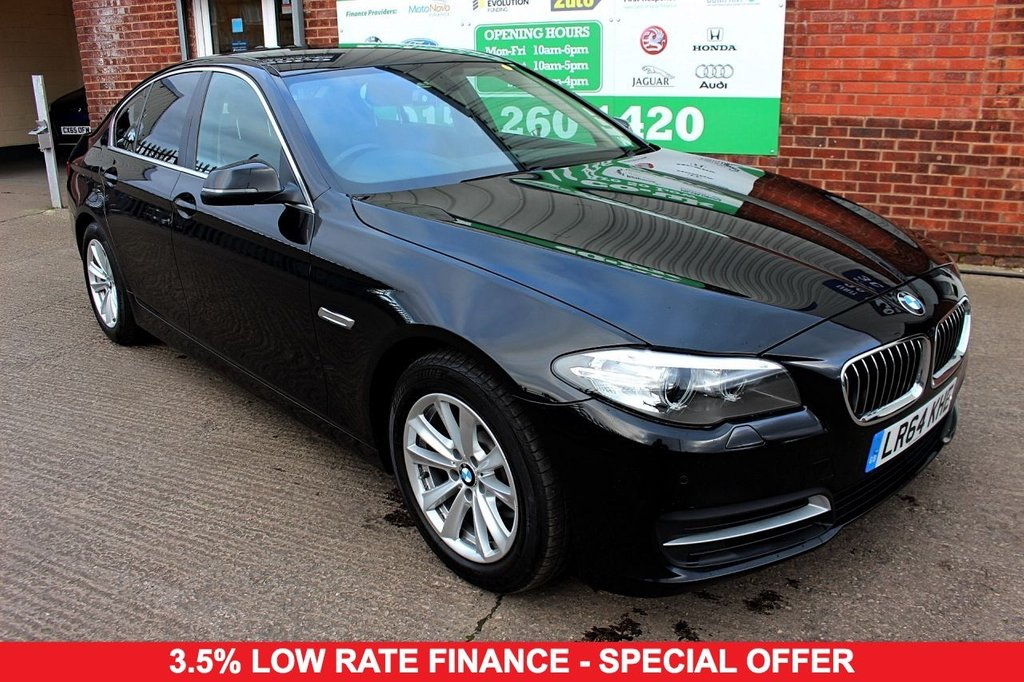 2014 64 BMW 5 SERIES 2.0 520D SE 4d AUTO 188 BHP