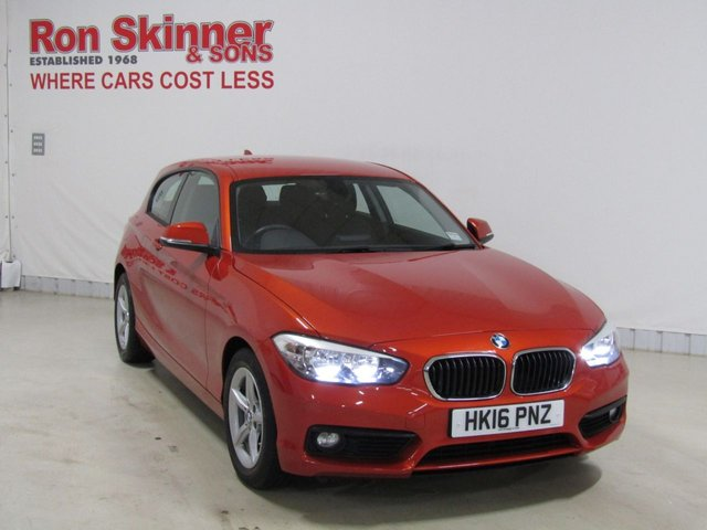 View our 2016 16 BMW 1 SERIES 1.5 116D ED PLUS 3d 114 BHP
