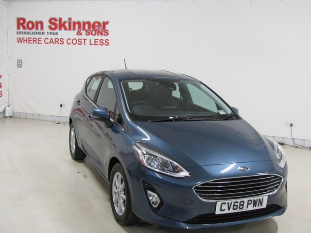 View our 2018 68 FORD FIESTA 1.1 ZETEC 5d 85 BHP