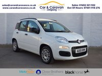 USED 2015 15 FIAT PANDA 1.2 EASY 5d 69 BHP One Owner Full FIAT History Buy Now, Pay Later Finance!