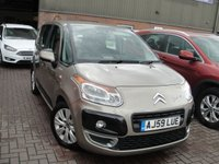 USED 2009 59 CITROEN C3 PICASSO 1.6 PICASSO VTR PLUS HDI 5d 90 BHP ANY PART EXCHANGE WELCOME, COUNTRY WIDE DELIVERY ARRANGED