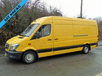 2013 MERCEDES-BENZ SPRINTER 313 2.1CDI 129 BHP LWB HIGH ROOF PANEL VAN £SOLD