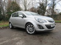 USED 2014 14 VAUXHALL CORSA 1.2 SE 5d 83 BHP HEATED FRONT SEATS WITH ALLOY WHEELS