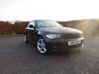 USED 2010 10 BMW 1 SERIES 2.0 118D SPORT 2d SERVICE HISTORY * BLUETOOTH * FULL HEATED CREAM LEATHER INTERIOR