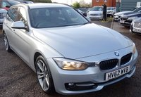 USED 2012 62 BMW 3 SERIES 2.0 320D SPORT TOURING 5d 181 BHP **BMW SERVICE HISTORY HEATED SEATS AIR CONDITIONING CRUISE CONTROL AUTO START STOP