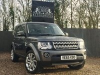 2015 LAND ROVER DISCOVERY 4 3.0 SDV6 HSE 5dr AUTO 7 seats £29899.00