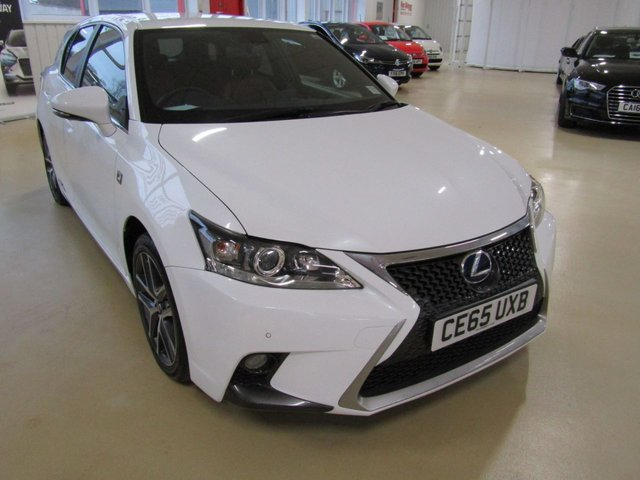 View our 2015 65 LEXUS CT 1.8 200H F SPORT 5d 134 BHP