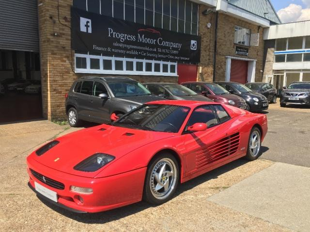View our FERRARI F512