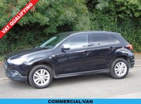2012 MITSUBISHI ASX 1.8 DI-D 4WORK 147 BHP 5DR CAR DERIVED VAN £5950.00