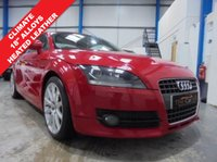 """USED 2007 07 AUDI TT 2.0 TFSI 3d 200 BHP Full Service History inc Timing Belt Replacement, Heated Leather Seats, Climate Control, Heated Electric Mirrors, Electric Windows, Retractable Spoiler, Remote Locking with 2 Keys, 18"""" 10 Spoke Alloys"""