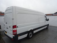 USED 2015 15 MERCEDES-BENZ SPRINTER 2.1 313 CDI LWB 1d 129 BHP MERCEDES SPRINTER LWB HIGH ROOF GREAT MILES AND CONDITION