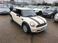 USED 2009 59 MINI HATCH ONE 1.4 ONE 3d 94 BHP